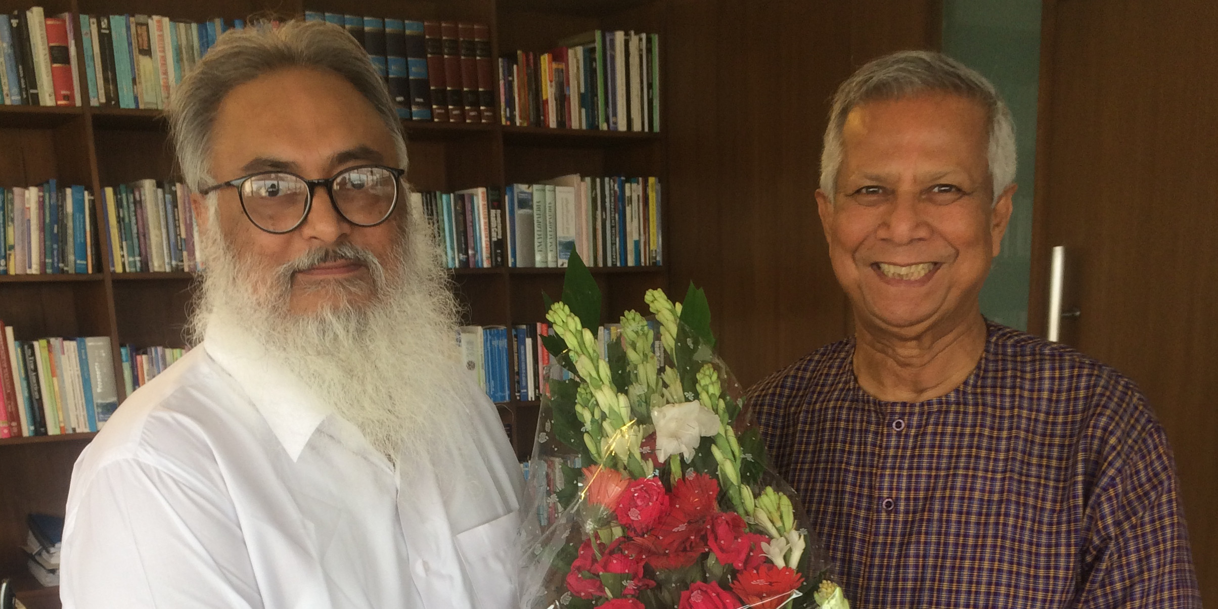 Professor Yunus and Professor Sharma